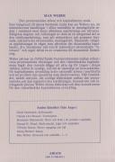 Den protestantiska etiken och kapitalismens anda (omslag, baksida)