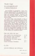 Klassamhället i smältdegeln (omslag, baksida)