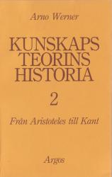 Kunskapsteorins historia 2 (omslag, framsida)