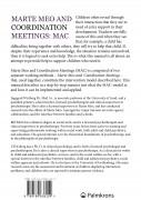 Marte Meo and Coordination Meetings: MAC (omslag, baksida)