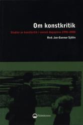 Om konstkritik (omslag, framsida)
