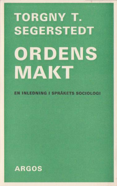 Ordens makt (omslag, framsida)
