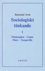 Sociologiskt tänkande I (omslag, framsida)