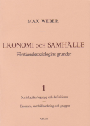 Ekonomi och samhälle 1 (omslag, framsida)