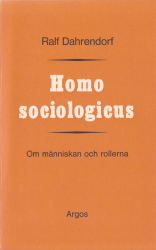 Homo sociologicus (omslag, framsida)