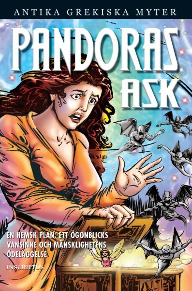 Pandoras Ask (omslag, framsida)