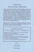 Sociologiskt tänkande I (omslag, baksida)